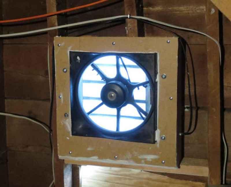 Gable End Ventilation
