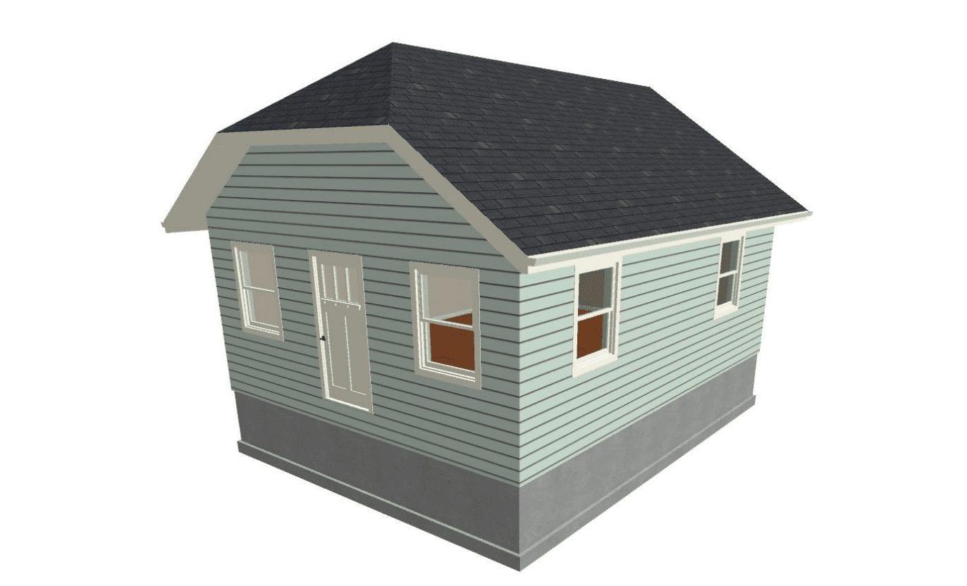 A-Frame Jerkinhead Roof