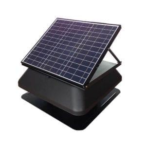 40 Watt Solar Roof Vent Fan Industrial Commercial Roof