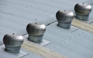 Mechanical Turbine Roof Ventilation Sydney West Roof