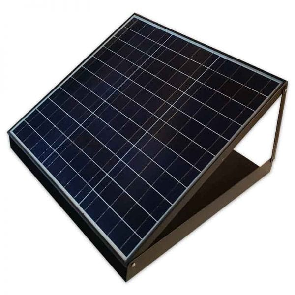 solar roof vent battery