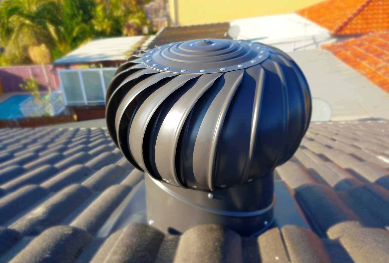 The Benefits Of Wind Powered Whirlybird Roof Vents To Your