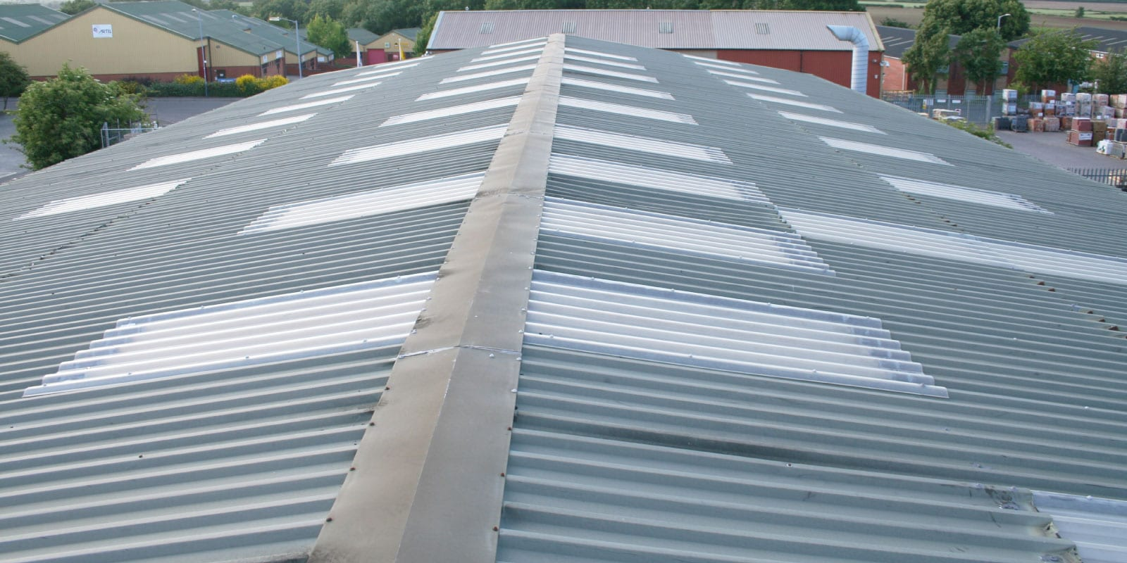 Fibreglass Roofing Panels Frp For Industrial And