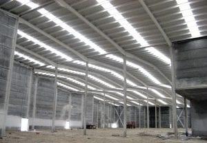 solar panels industrial skylight roofing