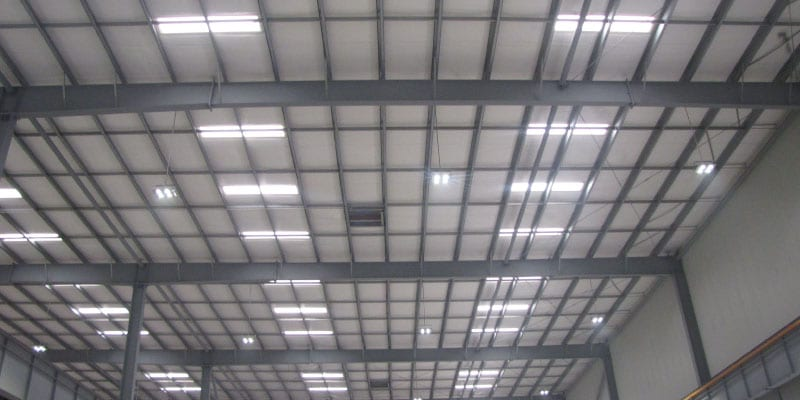 polycarbonate industrial roofing