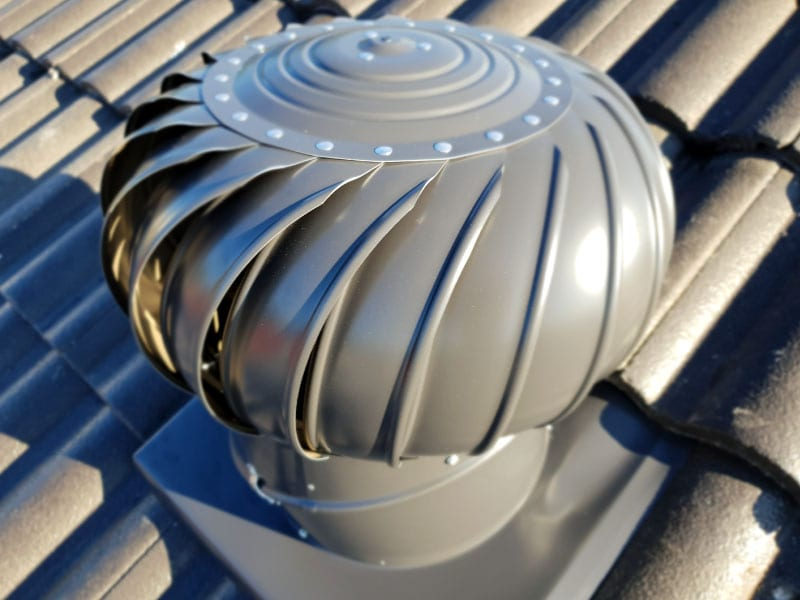 Colorbond Roof Vent Whirlybird Roof Ventilation
