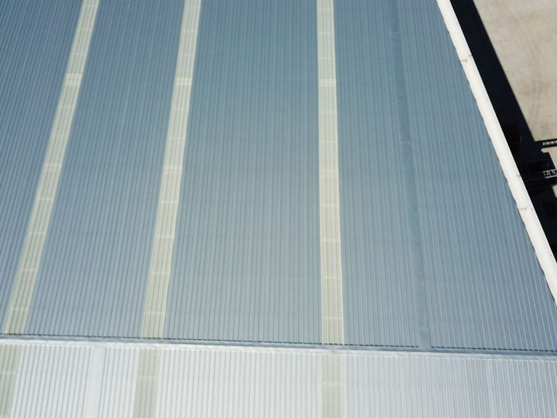 Fibreglass Roof Sheeting and Roof Vent Whirlybirds Sydney 3