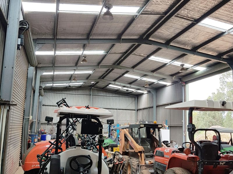 Skylight Sheeting and Industrial Roof Ventilator Replacement 9