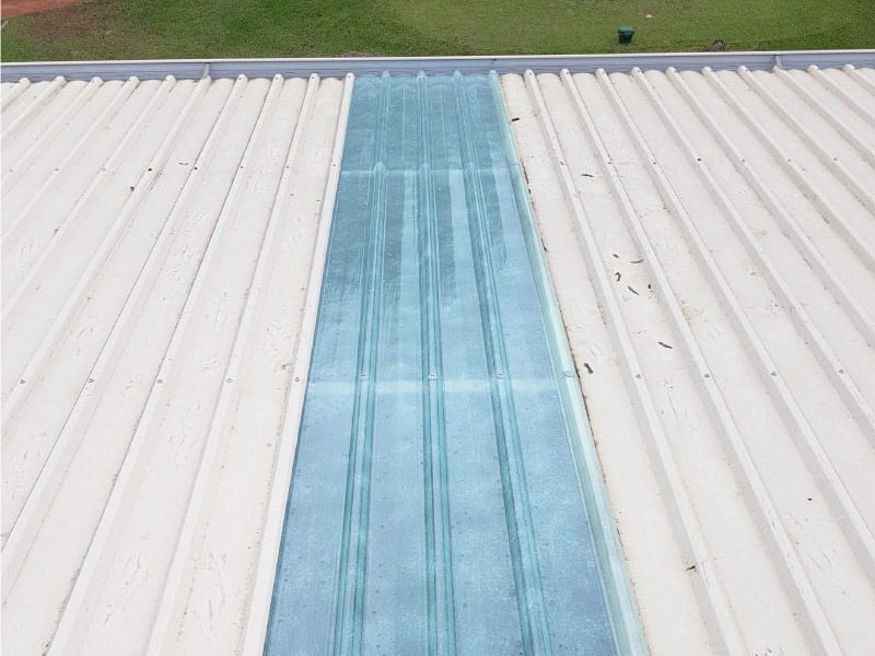 Skylight Sheeting and Industrial Roof Ventilator Replacement 11