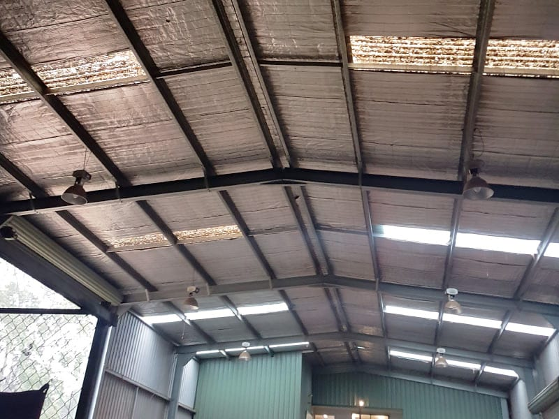 Skylight Sheeting And Industrial Roof Ventilator