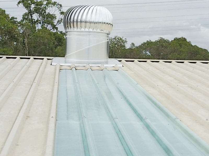Skylight Sheeting and Industrial Roof Ventilator Replacement 10