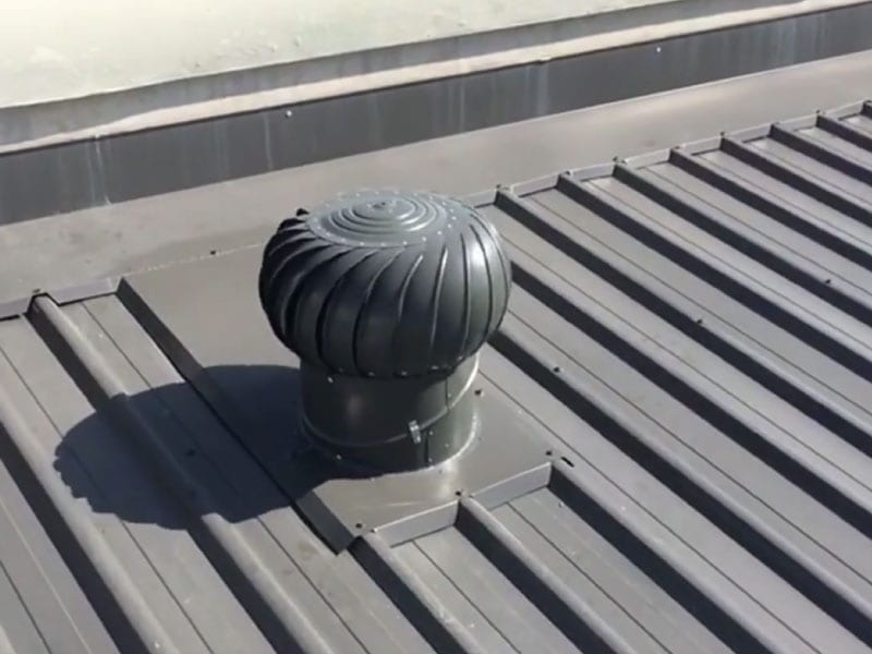 Fibreglass Roof Sheeting and Roof Vent Whirlybirds Sydney 7