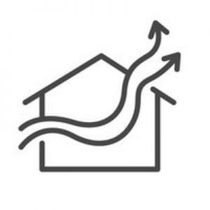 how many whirlybirds do i need on my roof