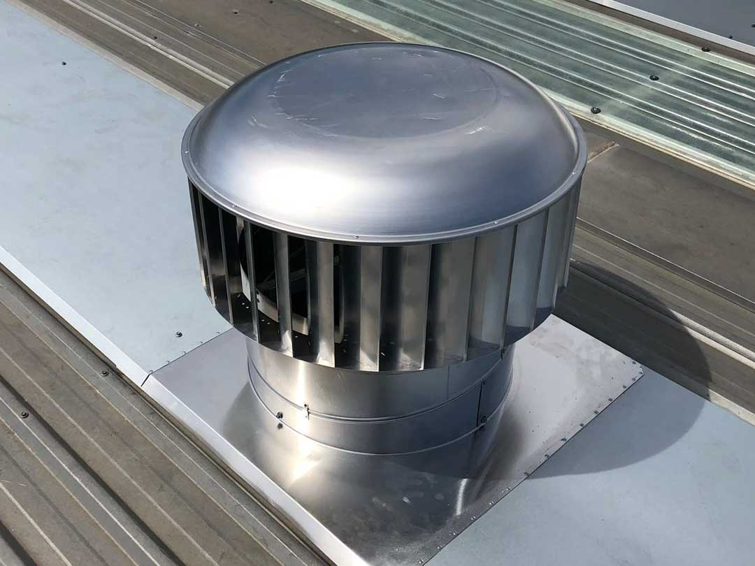 ampelair 600mm industrial roof vent