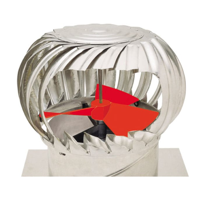Ampelite Superflow Whirlybird Roof Ventilator 1