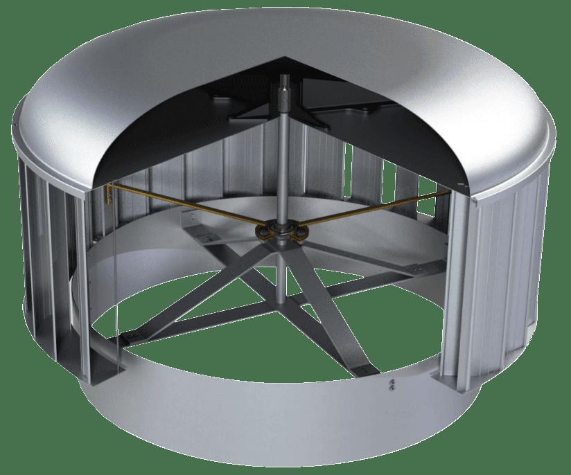 CSR Edmonds Hurricane Natural Vertical Vane Ventilator 1