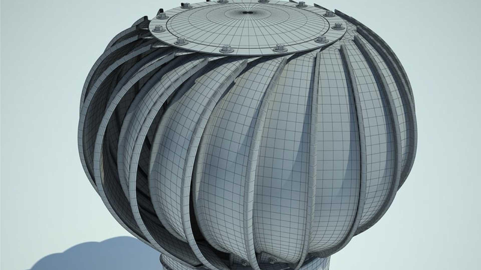 whirlybird roof vent