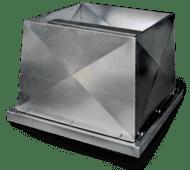 Fantech Roof Mounted Industrial Exhaust Fans - Beta Industrial Series Vertical Discharge Exhaust Fans for Roof 1