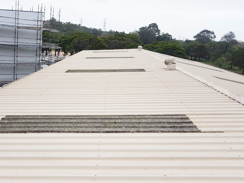 Skylight Sheeting and Industrial Roof Ventilator Replacement 5