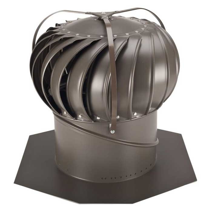 Bastion ALUMINIUM MILL ROOF VENT for Clearing Out Hot Air /& Reduce Moisture 300m