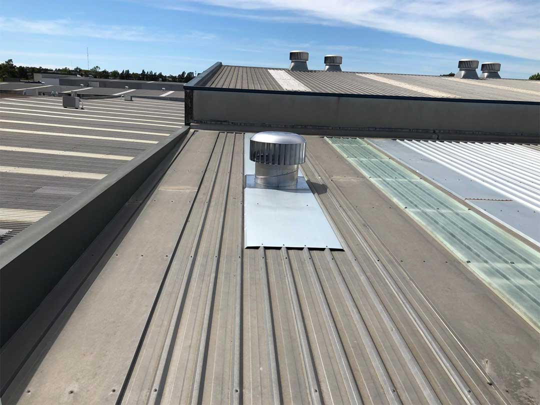 Commercial Whirlybird Installation Sydney