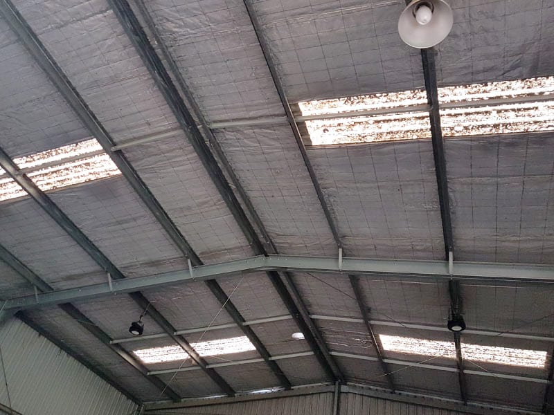 Skylight Sheeting and Industrial Roof Ventilator Replacement 6