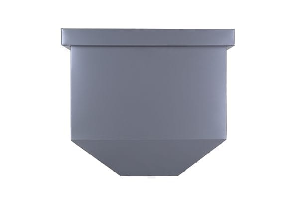 tapered with collar metal rainwater head colorbond colour matt finish colour