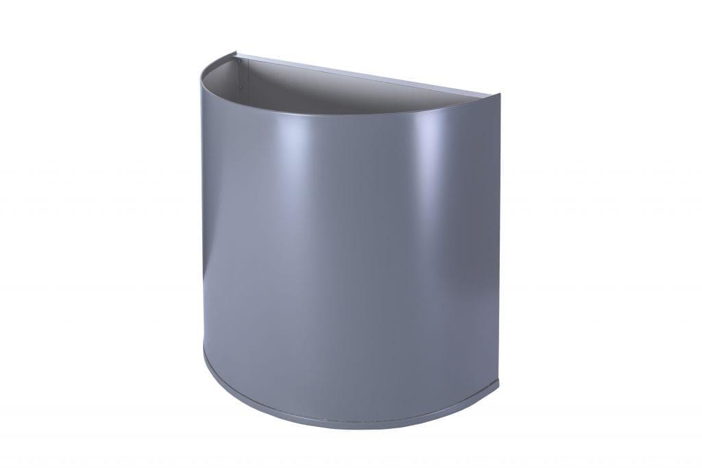 half cylinder metal rainwater head colorbond matt finish colour