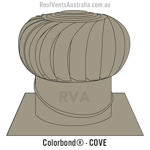 cove roof vent whirlybird