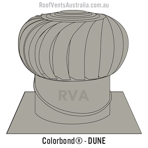 roof vent colorbond dune sydney