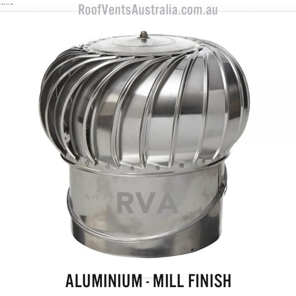 roof vent whirlybird mill finish 300mm