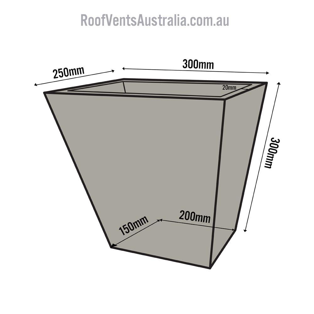 Standart Tapered Dune 1 Roof Ventilation Whirlybirds
