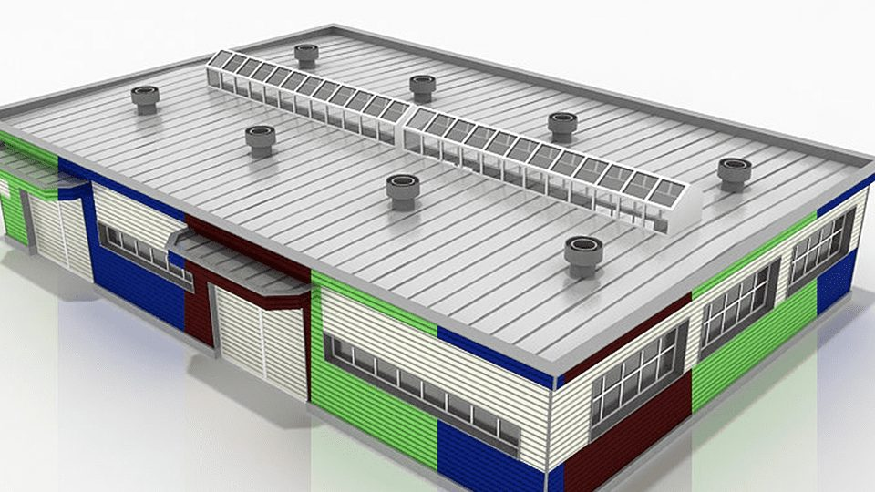 commercial industrial roof vents skylight panels sydney