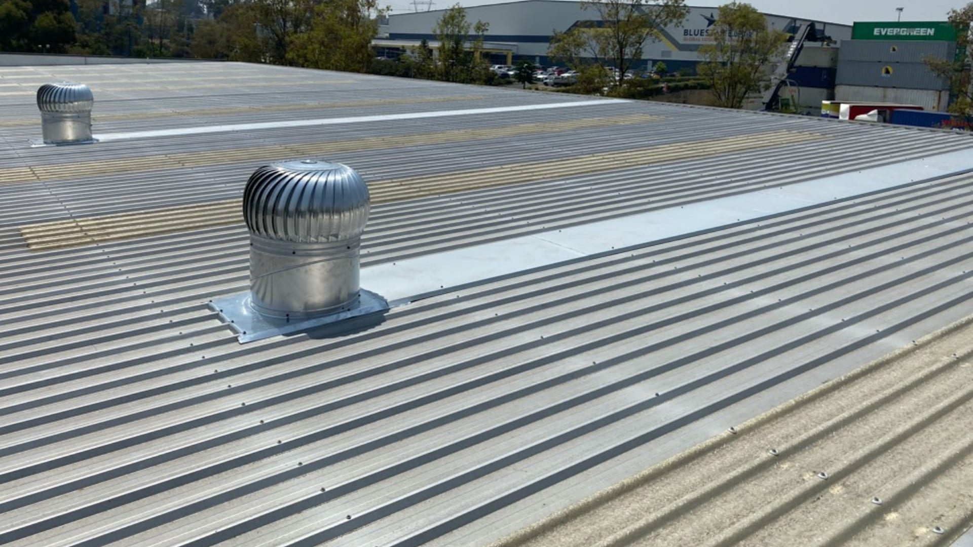 Commercial Wind Driven Roof Vents