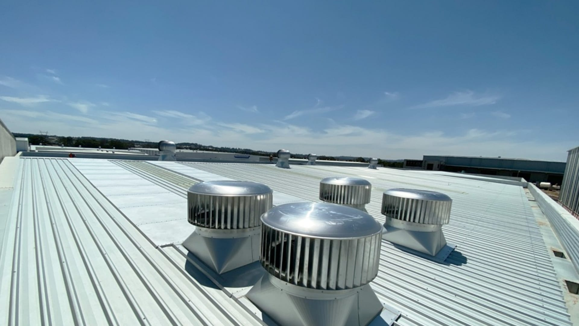Commercial Roof Ventilation Installation Chillex Roof