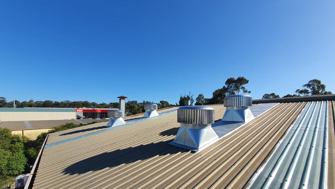 Commercial Skylight Roofing And Roof Vent Installation