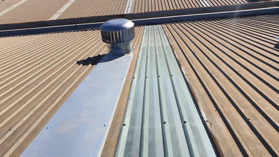 commercial roof vent whirlybird Sydney