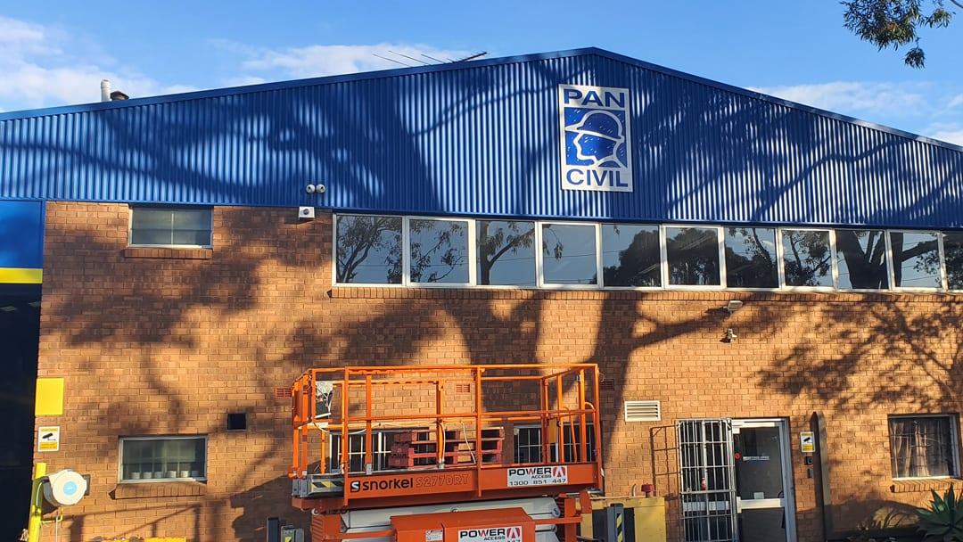 Pan Civil Warehouse & Job Site