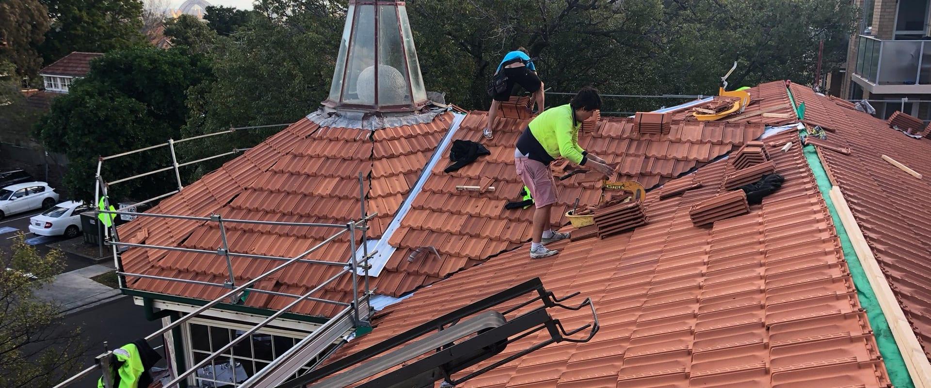 Roof leak who to call Australia