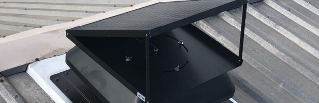 Solar roof ventilation fan Sydney