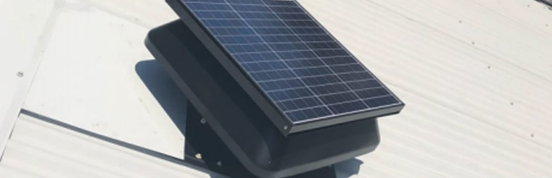 Solar roof ventilation products Sydney