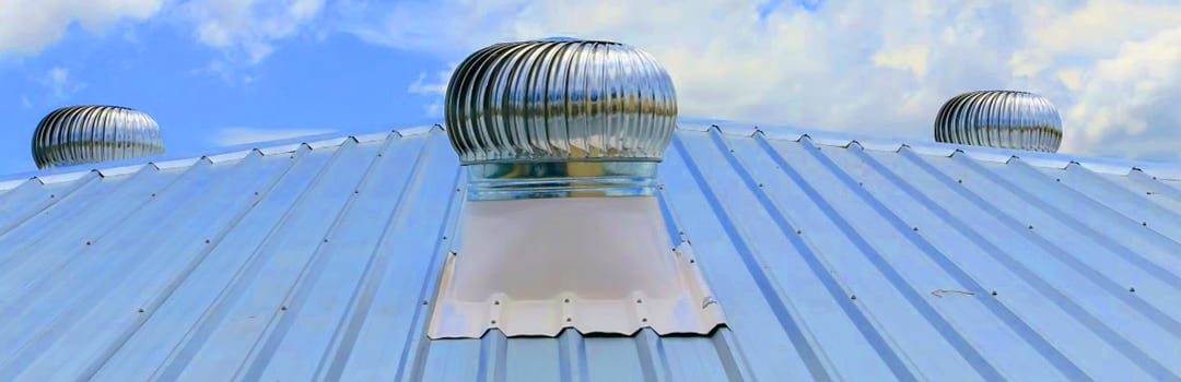 Whirlybird Roof Ventilation