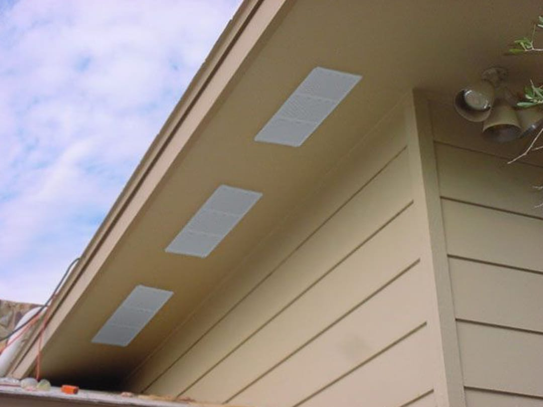 do eave vents work sydney