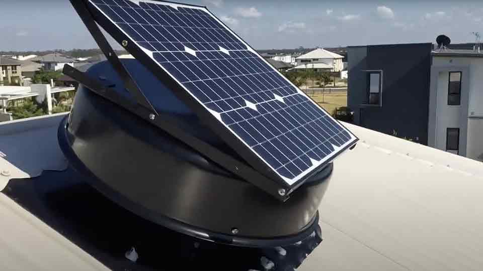 solar roof vents sydney