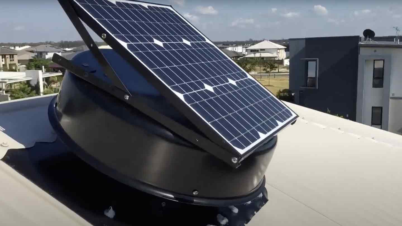 solar roof vents
