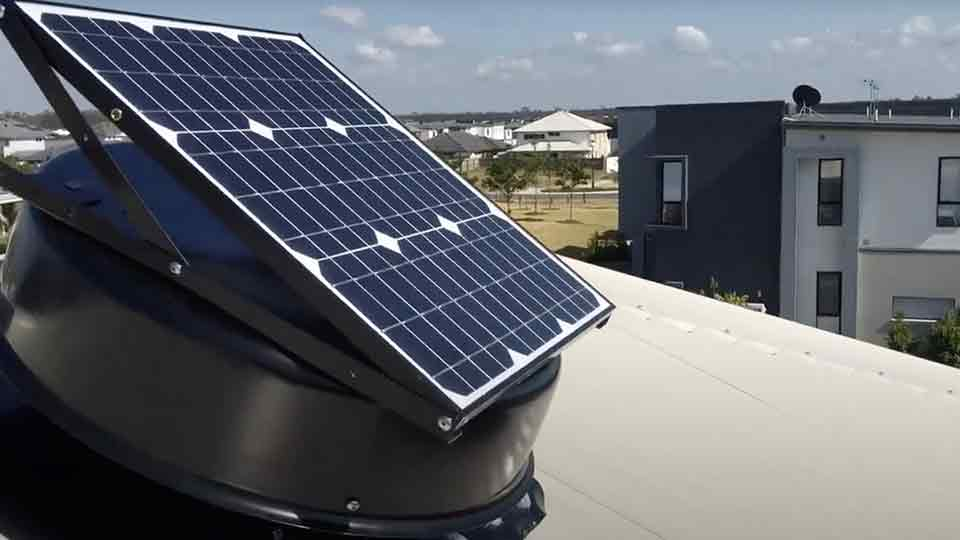 solar king roof ventilation fan