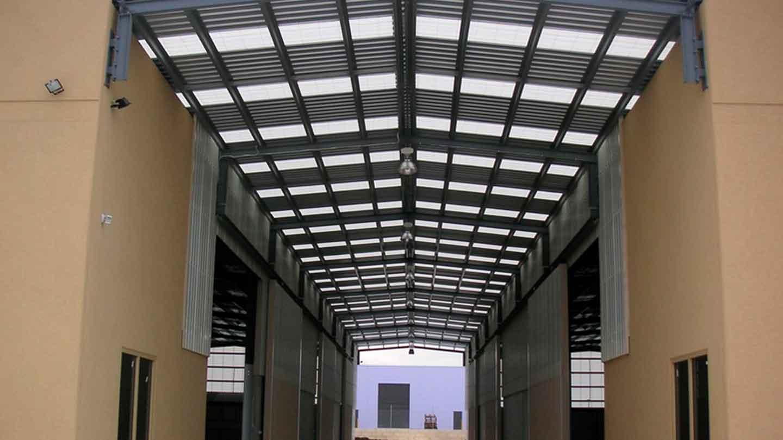ampelite commercial skylight panels sydney