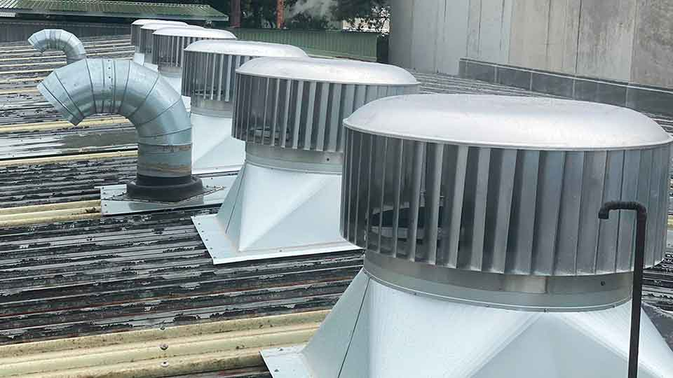 industrial roof exhaust vent