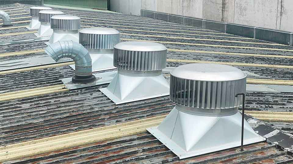 industrial roof air vents