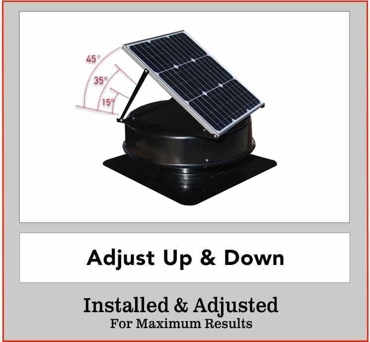 solar king roof ventilation fan